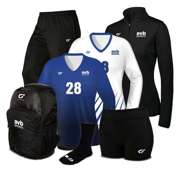 Women's Volleyball Team Packages